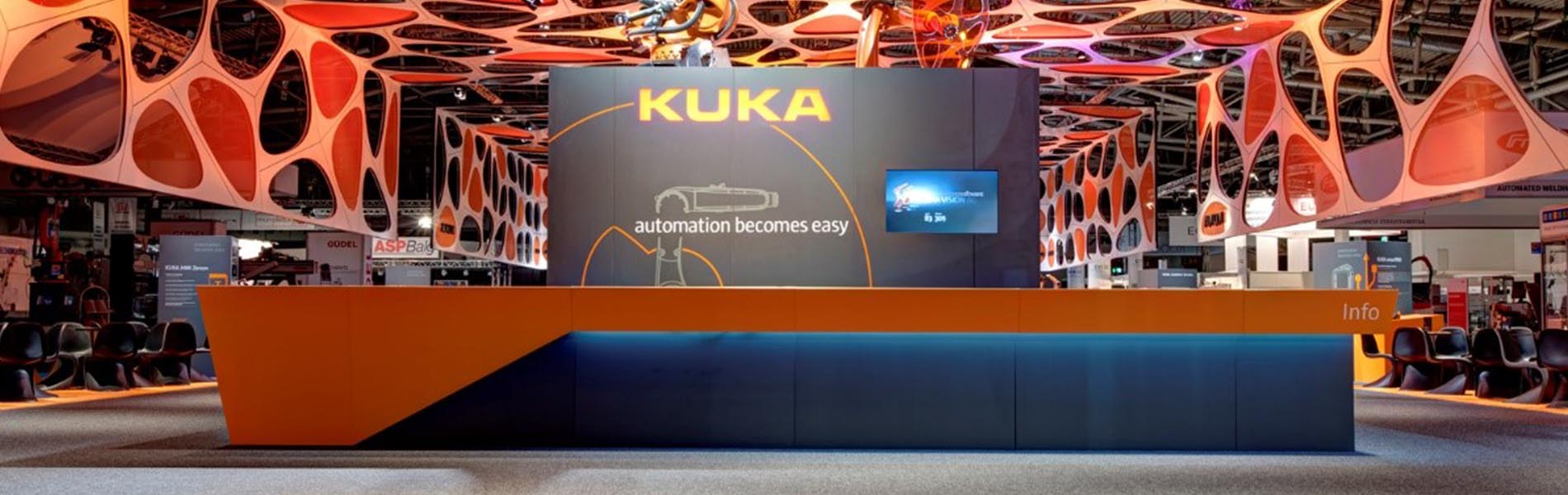 kuka messestand header